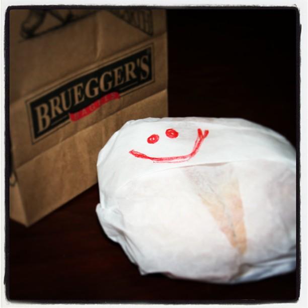 Bruegger's smile